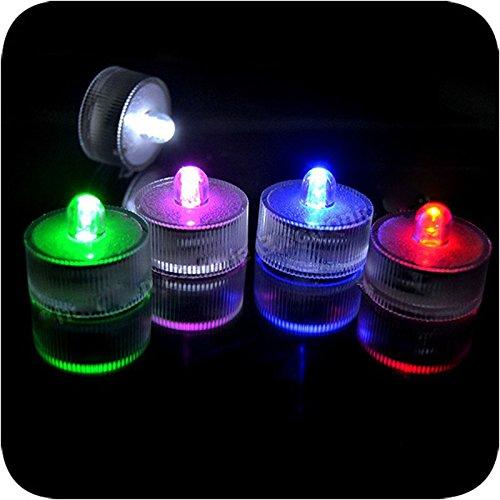 FomCcu Lampes à LED étanches submersibles pour fontaine, piscine, étang, bassin d'aquarium