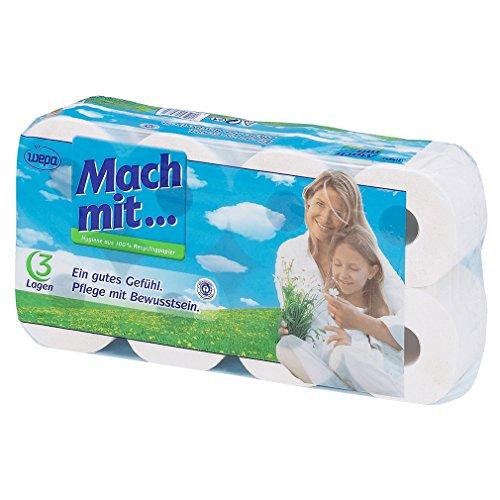 wepa Tissue-Toilettenpapier (1 x 8 Stk)