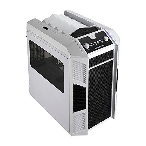 Aerocool EN52858 Xpredator Cube PC-Gehäuse (Micro-ATX, 1x 5,3 Zoll Externe, 3X 3,5 Zoll interne, 2X USB 3.0) weiß