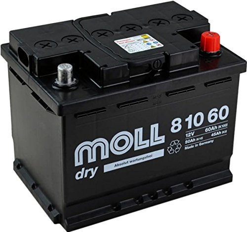 MOLL start|stop plus AGM 81060 Autobatterie 12V 60Ah