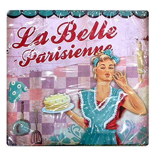 Servilletas de Papel con diseño Retro La Belle Parisienne, decoración de Fiesta con Huevos de temática de Francia, París, decoración de cumpleaños, Idea de Regalo para Mujeres