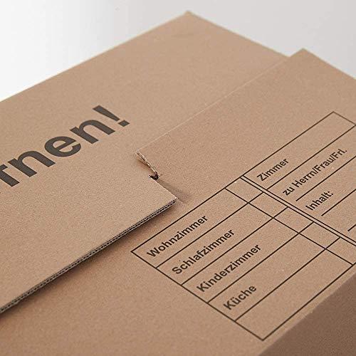 Umzugskartons 20 Stück Profi STABIL 2-wellig von BB-Verpackungen - 7