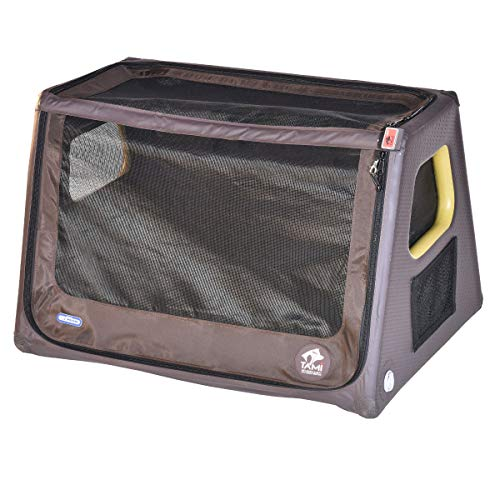 TAMI - Aufblasbares Hundebox XL - Dog Box Hundetransportbox Hund Autotransportbox Transportbox Falbare Hundekäfig