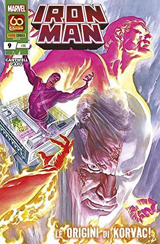 Fumetto Iron Man N° 9 (98) - Panini Comics – Italiano