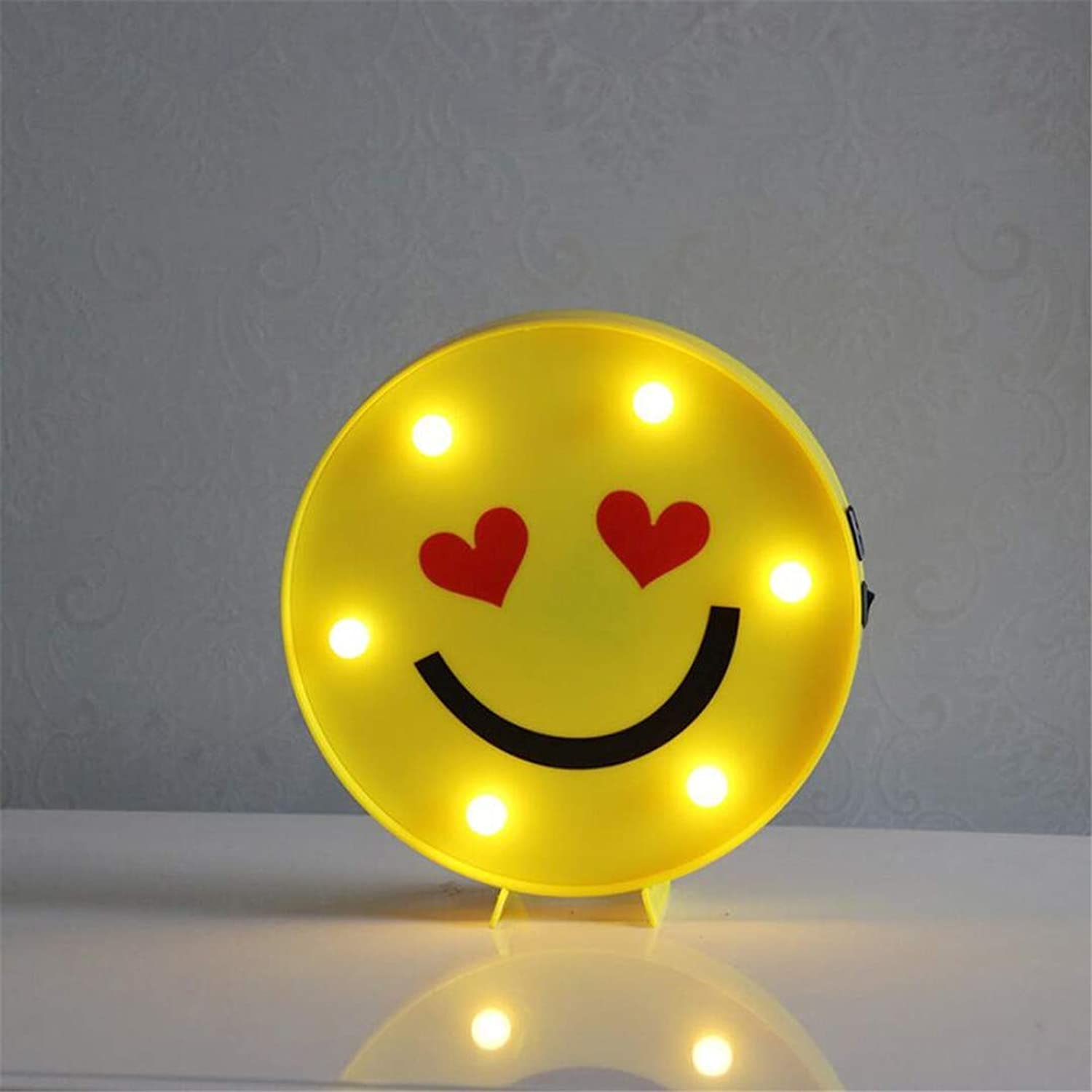QiXian Ceiling Light Ceiling Lamps Night Lamps Qq Expression Series Modeling Lamp Birthday Gift Small Night Lamps Funny Smiley Expression Package to Send Male and Female Friends