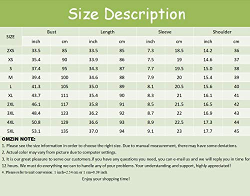 OMZIN Women's Casual Short Sleeve Tunic Solid Color Short T-Shirt Dress White S