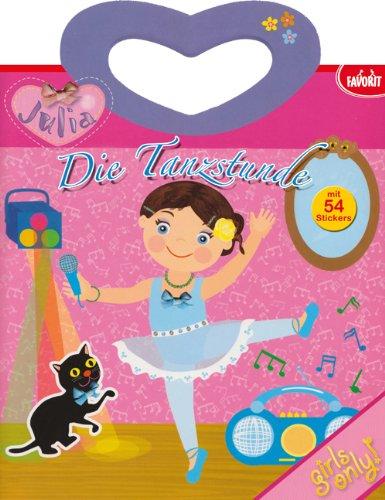 Julia-Stickerbuch: Die Tanzstunde