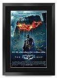 HWC Trading The Dark Knight Batman A3 Gerahmte Signiert