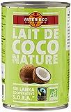 Alter Eco Lait de Coco Nature Bio et Equitable 40 cl