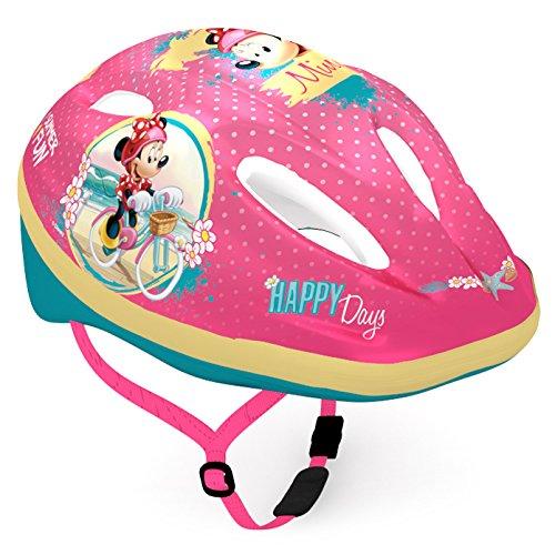 Disney Mädchen Minnie Mouse Fahrradhelm, Mehrfarbig, S