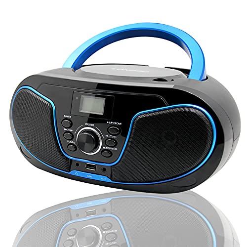LONPOO Tragbar Radio Boombox Bild