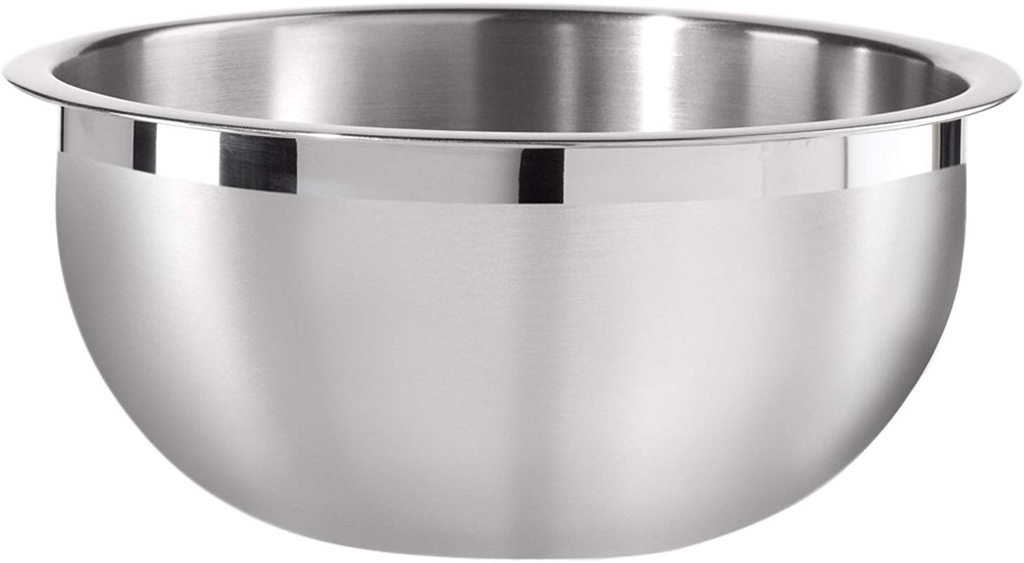 Oggi 8 Quart Two Tone Stainless Steel Mixing Bowl With Airtight Lid