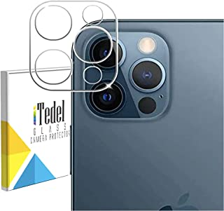 iTedel Camera Lens Protector for iPhone 12 Pro Max (2020), Ultra-Thin High Definition 9H Hardness 3D Bubble-Free Anti-Scra...