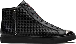 OPP Men's Fashion Leather Sneaker Casual High Top Shoes