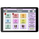 FACILOTAB L 10,1' 16 Go Noir WiFi - Tablette simplifiée pour Seniors