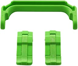 2 Lime Green Latches & 1 Lime Green Handle for Pelican 1200 or 1300 Customize Your Pelican Case.
