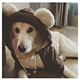 Ropa Linda Y Cálida para Mascotas, Proteger A Las Mascotas De La Nieve Fría Clima Ventoso para Perros Gato Ropa De Invierno para Todos Los Días,6XL
