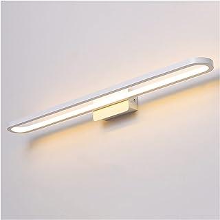 Led Mirror Front Lights, European and American Style White Home Hotel Bathroom Waterproof Mist Vanity Bathtub Dressing Tab...
