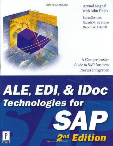 Download Ale, Edi, & Idoc Technologies for Sap (Prima Tech's SAP Books) 0761534318