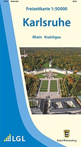 Karlsruhe: Rhein Kraichgau (Freizeitkarten 1:50000)