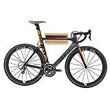 Its a 10 Cubierta de Madera de Bicicletas Aparcamiento Estante - montado en la Pared Camino de la Bici Estante de Almacenamiento de Garaje o Home - Pantalla Soporte de la Bicicleta 33 * 30 * 14.5cm