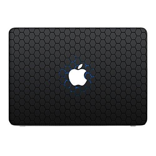 """Zeug 10044, Skin-Aufkleber Folie Sticker Laptop Vinyl Designfolie Decal mit Ledernachbildung Laminat und Farbig Design für Apple MacBook Air 13\"""""""