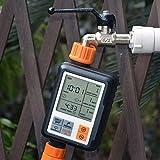 OurLeeme Programador de Riego, Temporizador de Agua automático Controlador de riego automático Temporizador de riego Digital Temporizador de Grifo de Manguera programable para césped de jardín