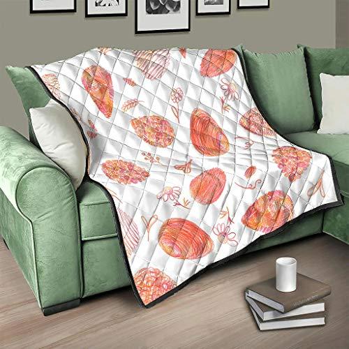 AXGM Colcha para sofá suave y cálida de color blanco, 150 x 200 cm