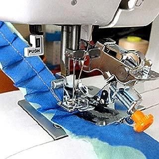 YEQIN Ruffler Foot (#55705) For Singer Brother Juki Low Shank Sewing Machine (yellow box)