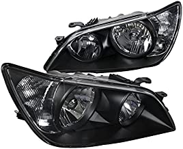 Spec-D Tuning LH-IS30001JM-RS Black Headlight (Euro)
