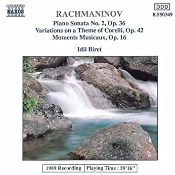 Rachmaninov: Variations On A Theme of Corelli / Moments Musicaux, Op. 16