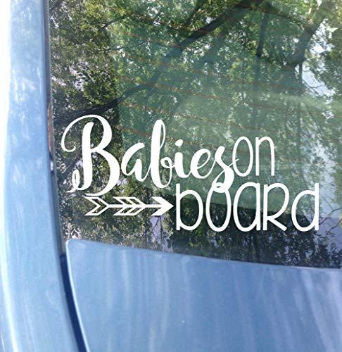 Dozili Baby's aan boord Window Decal auto sticker nieuwe baby aan boord Sticker Moeder Decal kind aan boord veiligheid Van 5