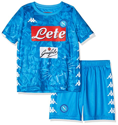 SSC Napoli, Junior Home Match, Hamsik, Kit 2018/2019, Kinder, Blau, 12