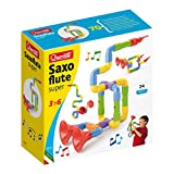 Quercetti-Quercetti-4172 Súper Saxoflute-Juego de construcción Saxófon (4172)
