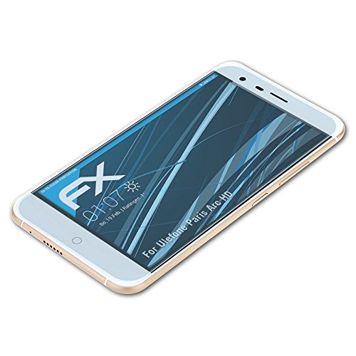 atFolix Schutzfolie kompatibel mit Ulefone Paris Arc HD Folie, ultraklare FX Bildschirmschutzfolie (3X)