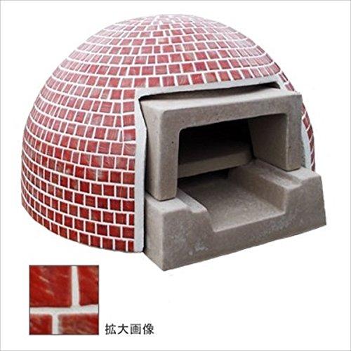 テック堂『石窯プチドームコーラルレッドセット(PDCC09)』