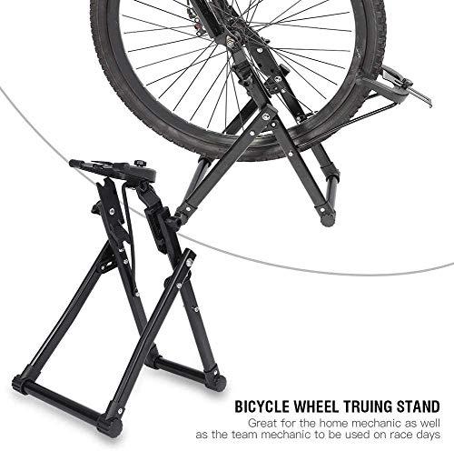 MXECO Estación de Entrenamiento de Bicicleta Resistencia magnética Bicicleta Entrenador Soporte de Bicicleta Equipo de Ejercicio de Ciclismo en Interiores Herramientas de reparación de Bicicletas
