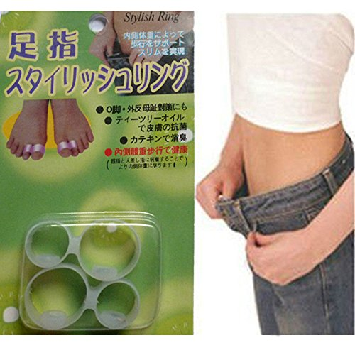 3nh 10Pair Slimming Silicone Foot Care Magnetic Toe RingFoot Fitness Massager Fat Burner Weight Loss Health Care Products