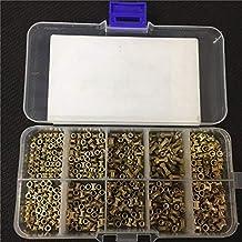 Lkjh Opruwen Kit Injectie Moer kartelmoeren Copper M2 M2.5 M3 Stainlness Steel Insert for elektrische 200 / 500pcs M2 * l-...