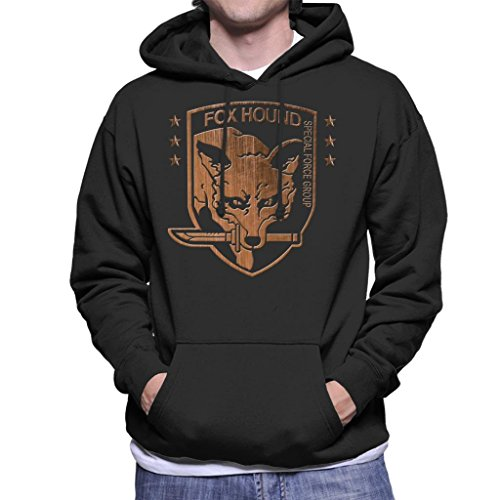 Foxhound Special Forces Group Metal Gear Solid Men's Hooded Sweatshirt