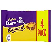 (Cadbury (キャドバリー)) 酪農ミルクキャラメル4パック148グラム (x6) - Cadbury Dairy Milk Caramel 4 Pack 148g (Pack of 6) [並行輸入品]