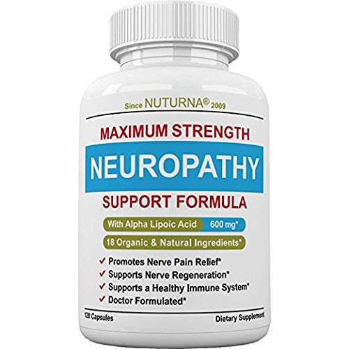 Nuturna Neuropathy Support Supplement - 120 Pack