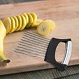 ZLOP Cortador de verduras y frutas, soporte de Onion, cortador de potato vegetal, cortador de verduras