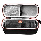 AONKE Duro Estuche Viajes Funda Bolso para JBL Flip 5 / Flip Essential Altavoz inalámbrico portátil con Bluetooth, Speaker Resistente al Agua