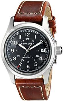 Hamilton Khaki Automatic Black Dial Men's Watch