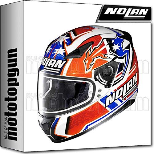 NOLAN CASCO MOTO INTEGRAL N60-5 GEMINI REPLICA C. STONER 026 L