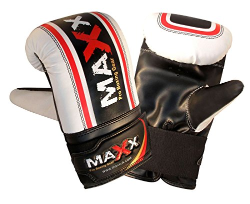 Maxx Black punchbag set with wall bracket or hook FREE Chain (bracket Mitts rop, 5ft)