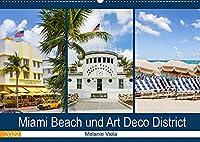 Miami Beach und Art Deco District (Wandkalender 2022 DIN A2 quer): Der Hotspot in Florida (Monatskalender, 14 Seiten )