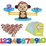VIPAMZ Learning Toys Monkey Balance Math Toy for Girls & Boys. Fun Gift for Children's STEM Educational Toys Preschool Games Ages 3+
