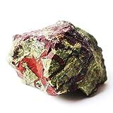 Fashio Decoraciones para el hogar 1 Pieza de Piedra de Sangre de dragón Natural, Roca de Cristal, Piedra en Bruto, espécimen Mineral, Piedra Preciosa de Chakra Reiki (Color : 20 40g)